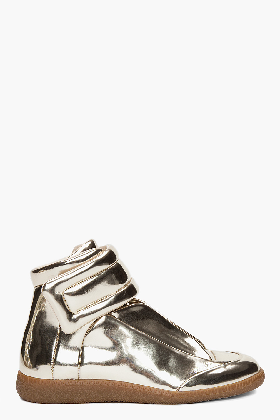 Maison martin margiela metallic sneakers for Maison martin margiela