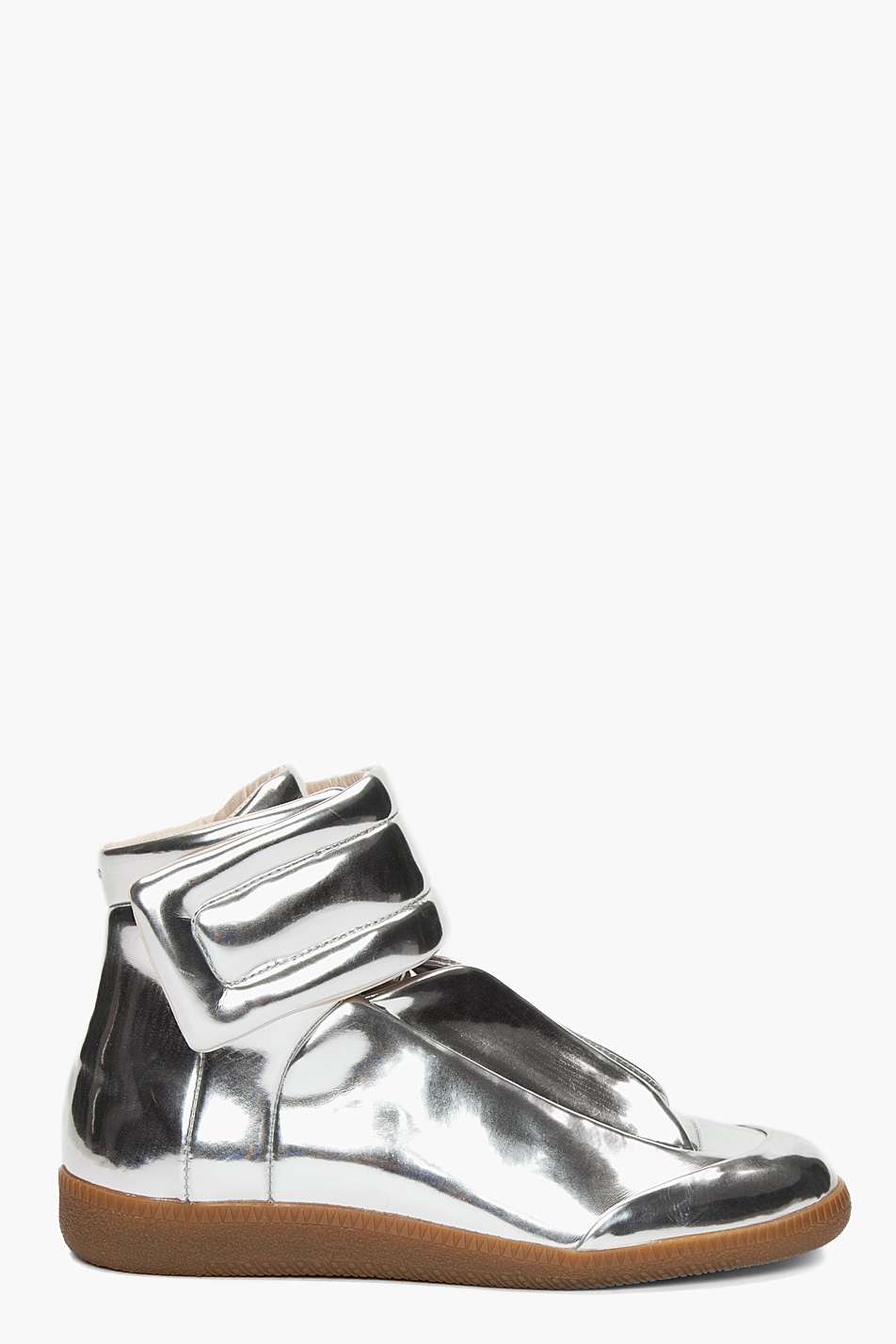 maison martin margiela metallic sneakers. Black Bedroom Furniture Sets. Home Design Ideas