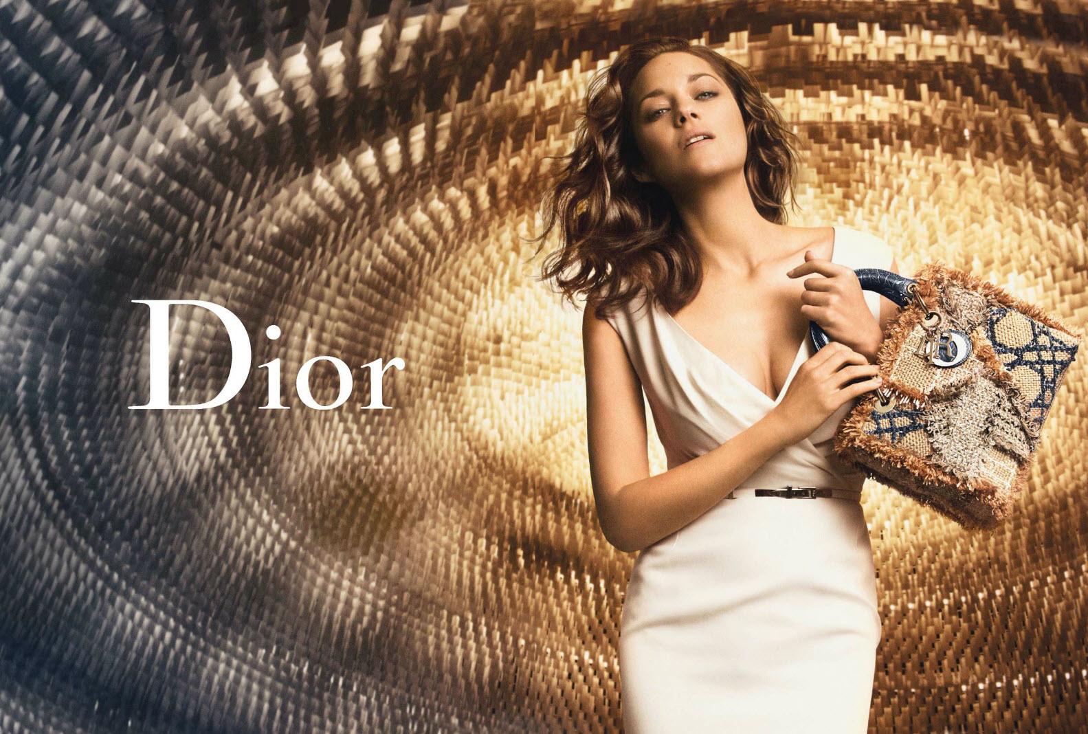 Marion Cotillard by Peter Lindbergh for Lady Dior Handbags 946be94e9da83