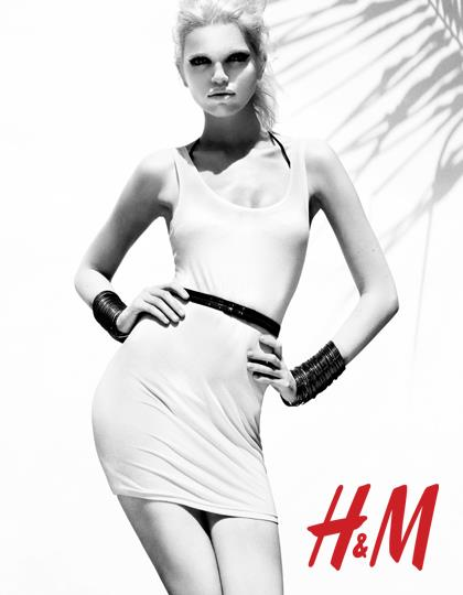 Daphne Groeneveld for H&M Season of Sun 2012