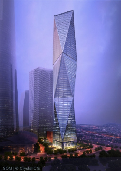 Diagonal Tower SOM