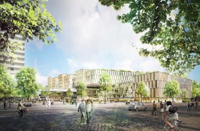 Future Main Hospital 3XN