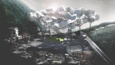 Favela Cloud Rio de Janeiro