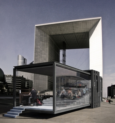 Architecture Pavilion Ubicuo Diseño