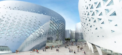 Cultural Center in Chengdu by Massimiliano and Doriana Fuksas 01