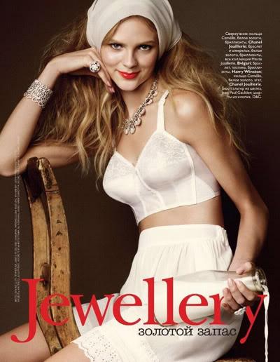 Antonella Graef By Ben Weller For Vogue Russia