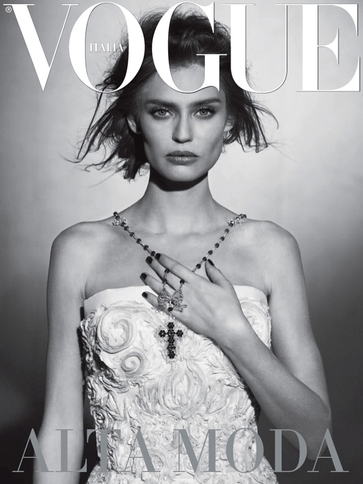 Bianca Balti By Peter Lindbergh For Vogue Italia