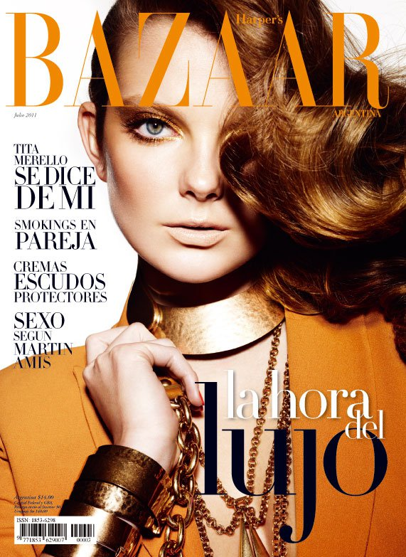 Eniko mihalik for harper 39 s bazaar argentina july 2011 for Bazaar argentina