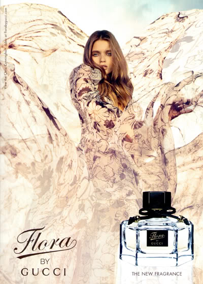 Flora By Gucci Fragrance Abbey Lee Kershaw By Inez Amp Vinoodh