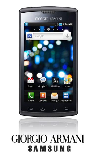 Samsung I9000 Galaxy S Giorgio Armani Edition