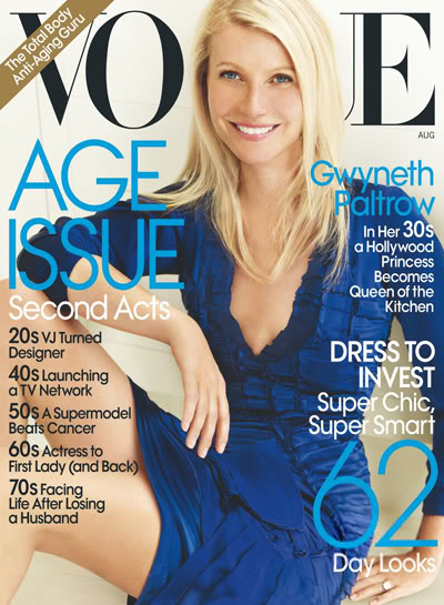 Gwyneth Paltrow Covers Vogue Us