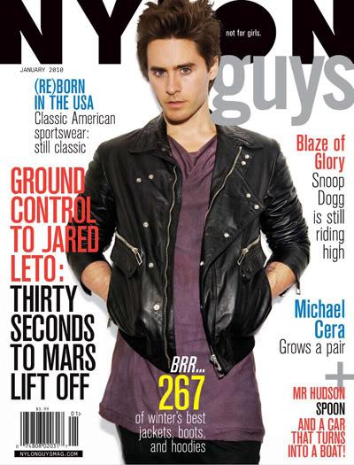 Jared Leto For NYLON Guys