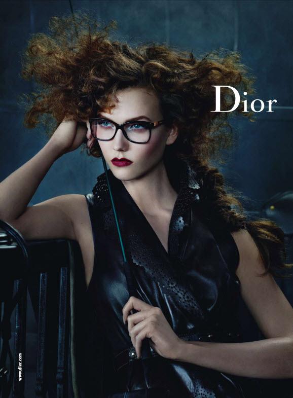 Karlie Kloss For Dior Eyewear Fall Winter 2010 11