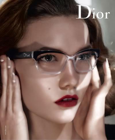 Karlie Kloss By Steven Meisel For Dior Eyewear