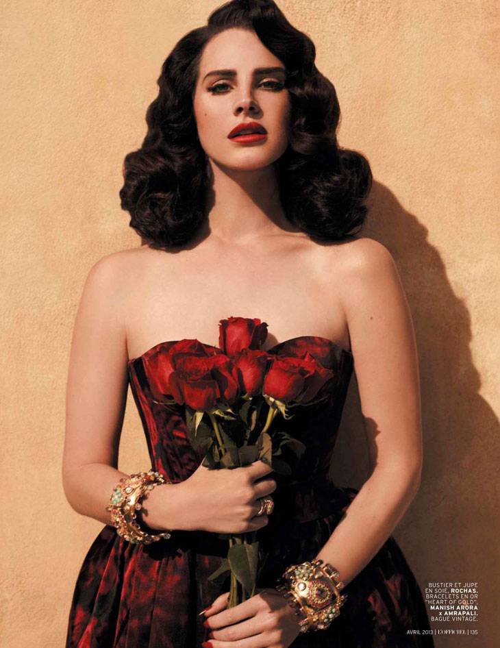 Fotos: Lana Del Rey posa para a revista ''L'Officiel Paris'', edição