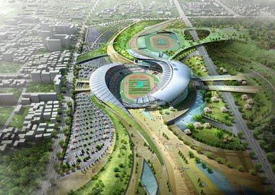 Main Stadium for Incheon Asian Games Design Scene