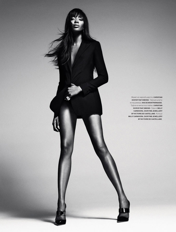 Naomi Campbell by Sebastian Kim for Numero Russia