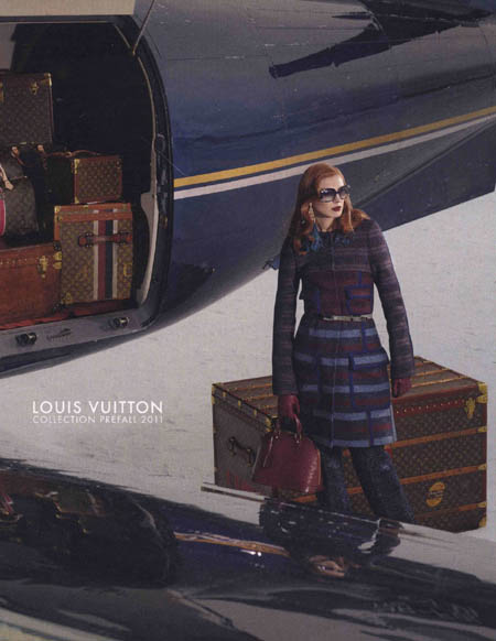 olga sherer by mark segal for louis vuitton pre