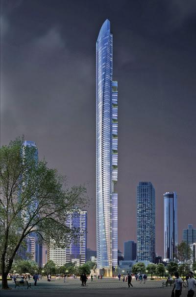 Pentominium Dubai By Aedas Design Scene