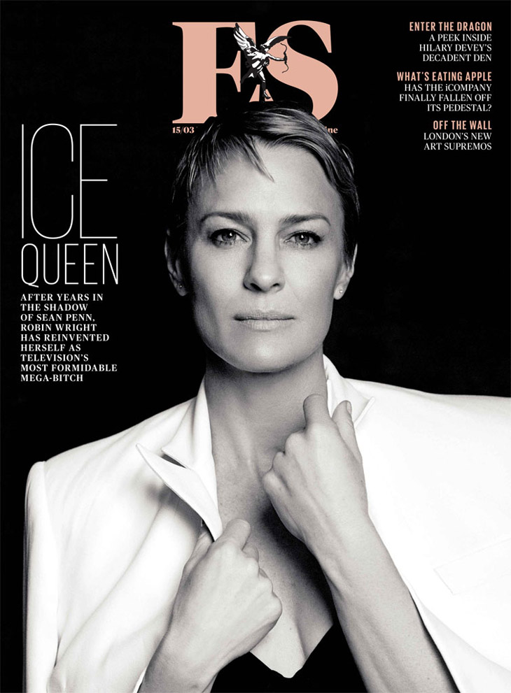Robin Wright By David Roemer For Evening Standard