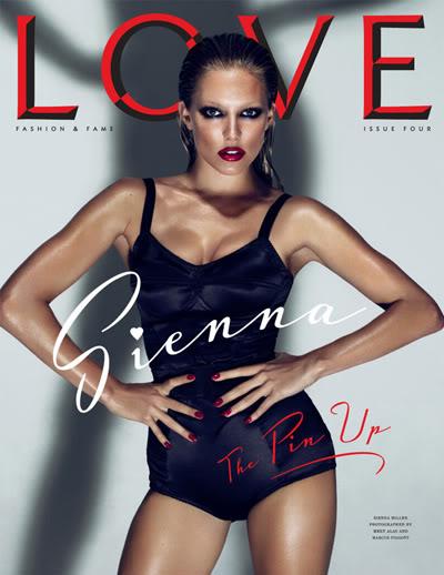 Sienna Miller For Love Magazine
