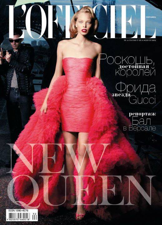 Tanya Dziahileva For L Officiel Ukraine October 2011