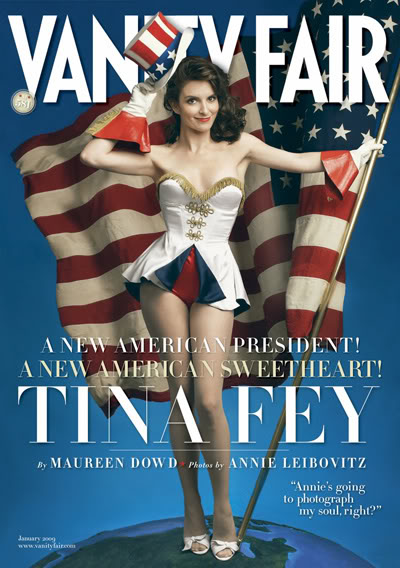 Vanity Fair January 2009 Tina Fey By Annie Leibovitz