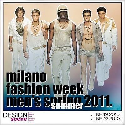 Milano Fashion Week Mens Spring Summer 2011 Schedule