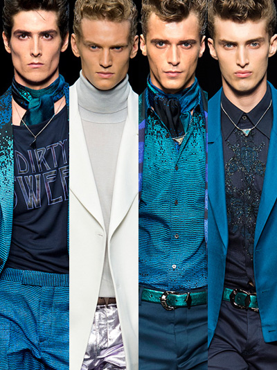 Roberto Cavalli Spring Summer 2013 Menswear Collection