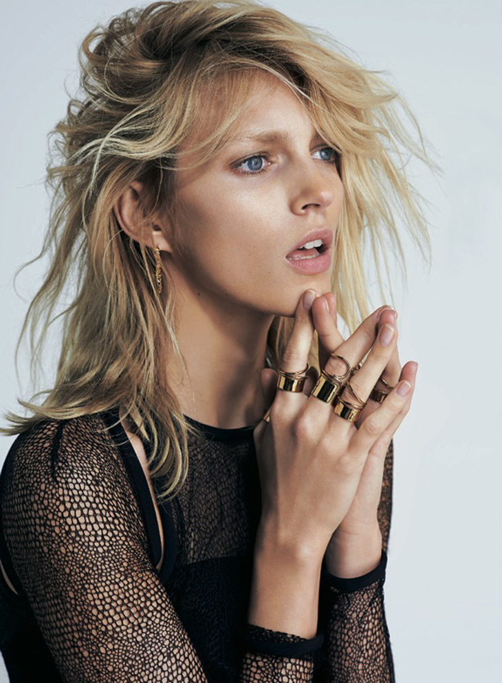 Anja Rubik By Eric Guillemain For S Moda