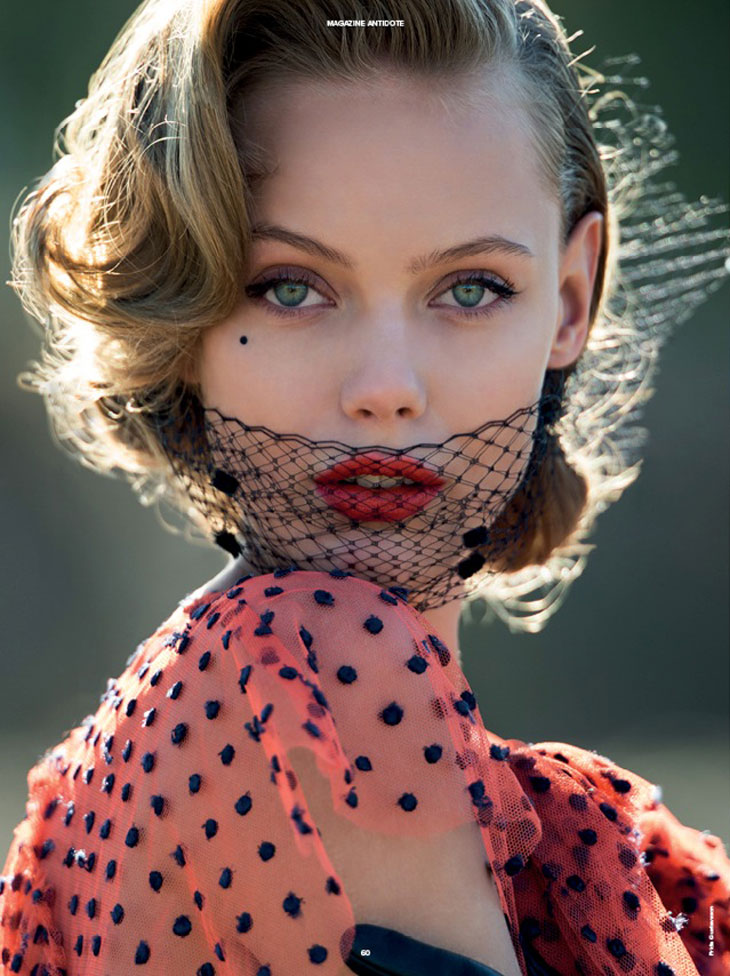 Top Models For Antidote Magazine Cover Story By Hans Feurer