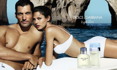 david gandy bianca balti dolce gabbana light blue campaign