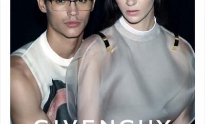 Francisco-Ken-Peralta-Mariacarla-Boscono-Givenchy-Eyewear-SS13
