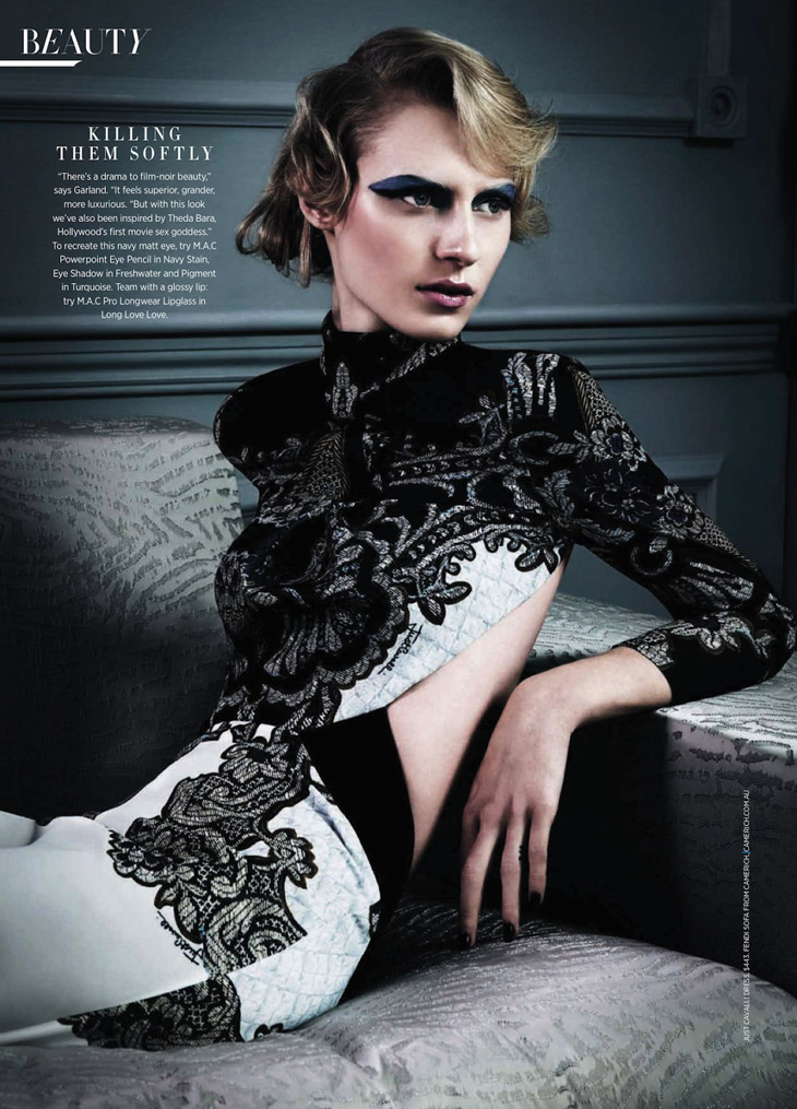Julia Nobis For Harper's Bazaar Australia