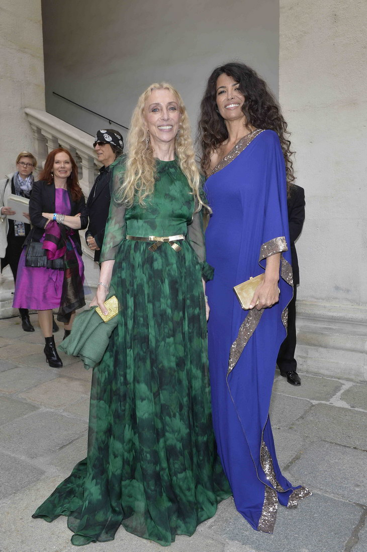 Franca Sozzani and Afef