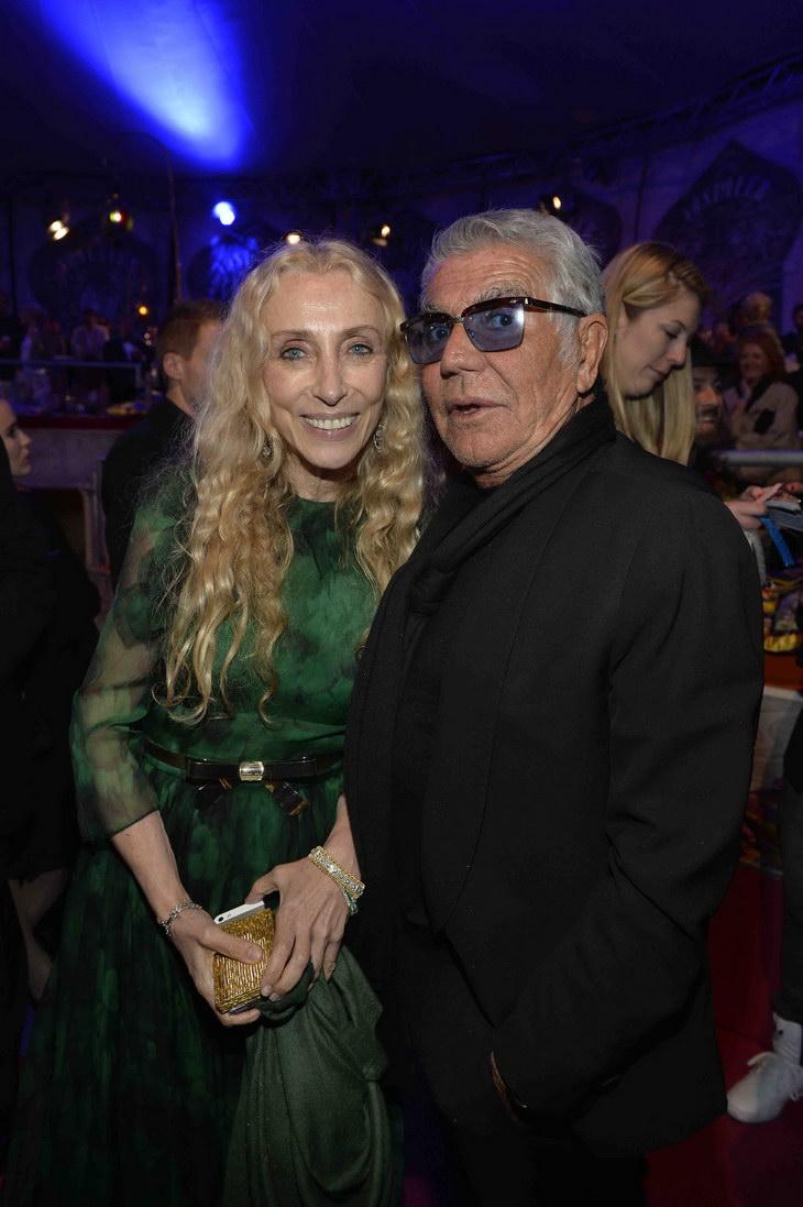 Franca Sozzani and Roberto Cavalli
