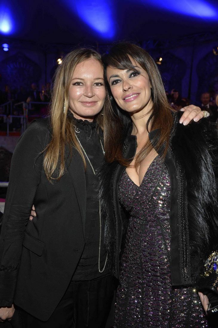 Eva Cavalli and Maria Grazie Cucinotta