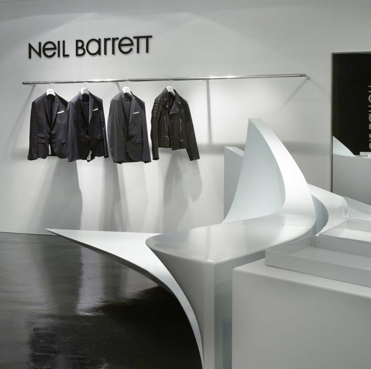 Neil Barrett Zaha Hadid