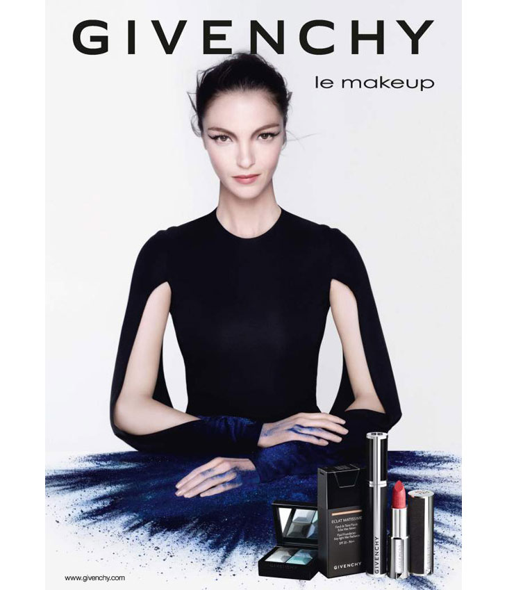 Mariacarla-Boscono-for-Givenchy-Le-Makeup-Fall-2013