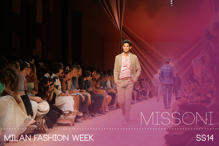promo code 825c8 de9e8 Missoni Spring Summer 2014 In Milano Takes Us On An Italian ...