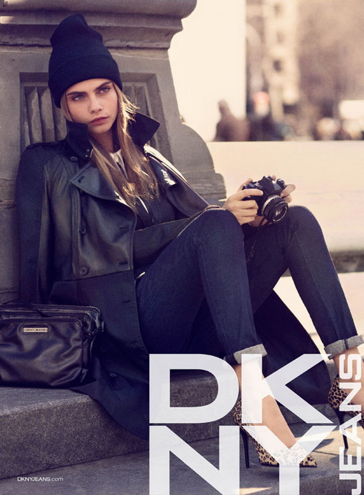 Winter messengers by DKNY