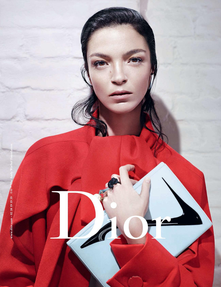 dior fall winter 2013 ft mariacarla boscono and elise crombez