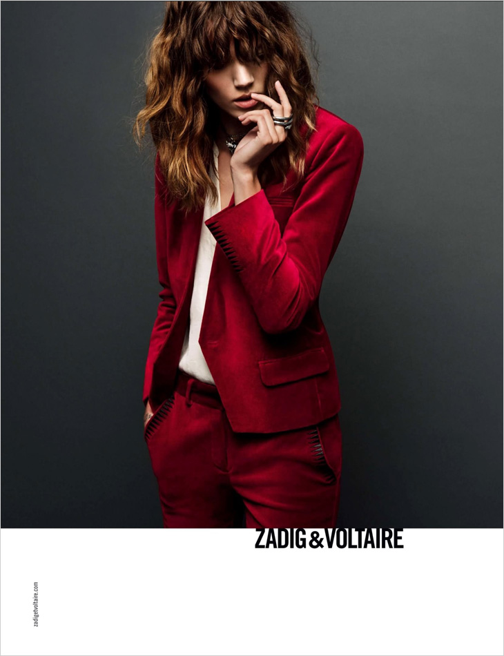 Freja Beha Erichsen for Zadig & Voltaire Fall Winter 2013.14
