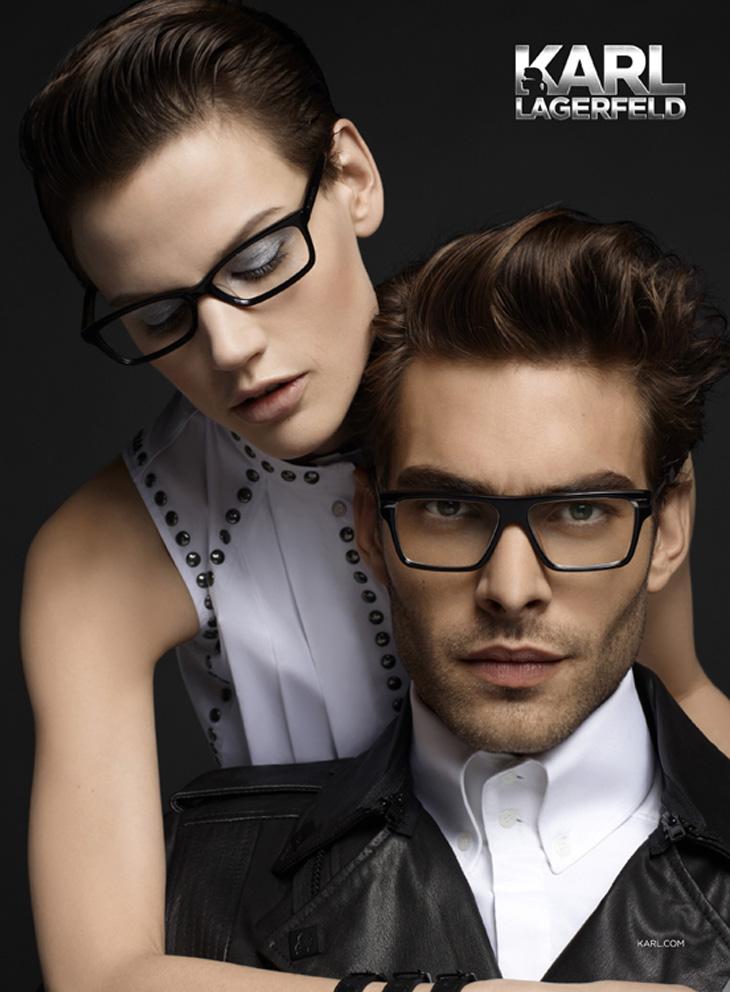 Jon Kortajarena & Saskia for Karl Lagerfeld Eyewear