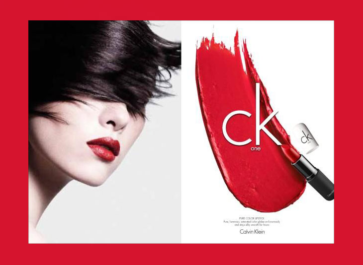 Top Models For Ck One Cosmetics