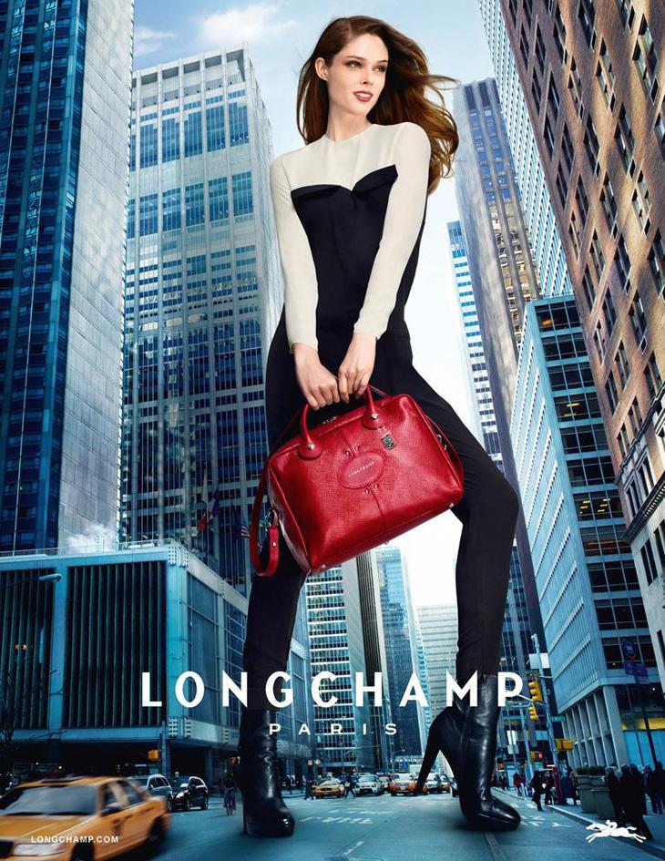 Longchamp Campaign Coco Rocha