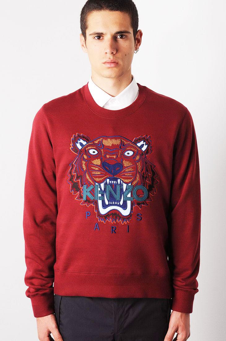 eacc7e4f28cee Kenzo Tiger Sweatshirt! And The Winner Is!