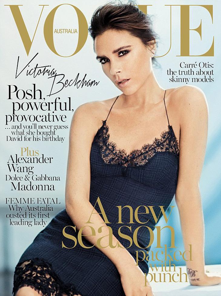 Victoria Beckham For Vogue Australia September 2013