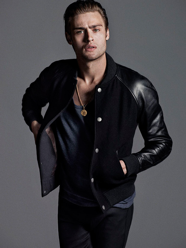 Douglas Booth For Flaunt By Hunter Amp Gatti