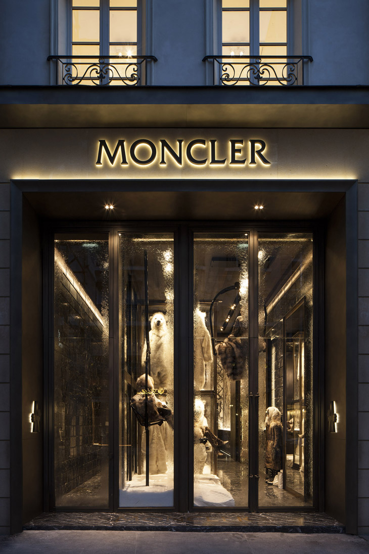 e4a54abab Moncler Flagship Store in Paris Opened Its Doors Yesterday